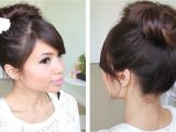 Cute Hairstyles without Bobby Pins Messy Hair Bun without Using Bobby Pins