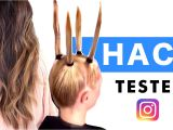 Cute Hairstyles You Can Do In 10 Minutes ☆ 2 Minute Home Hair Cut 💋 Instagram Hack Tested ☆ Hairstyles