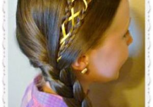 Cute Hairstyles Yt 55 Best Ribbon Hairstyles Images