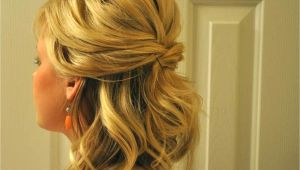 Cute Half Up Hairstyles for Short Hair Cute Prom Hairstyles Half Up Half Down for Long Hair