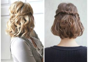 Cute Half Up Hairstyles for Short Hair Half Up Down Hairstyles for Short Hair Hairstyles