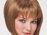 Cute Layered Bob Haircuts with Bangs Graduated Bob Haircut