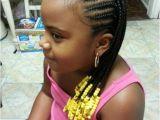 Cute Little Black Girl Braided Hairstyles Black Girl's Cornrows Hairstyles Creative Cornrows