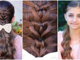 Cute Little Girl Hairstyles for Picture Day Mermaid Heart Braid