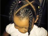 Cute Natural Hairstyles for Little Black Girls Cute Cornrow Alternative Twist In 2018 Pinterest