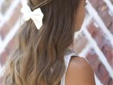 Cute On the Go Hairstyles Infinity Braid Tieback Back to School Hairstyles