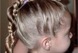 Cute Ponytail Hairstyles for Little Girls Little Girl's Hairstyles French Braid Twist Around