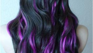 Cute Purple Highlights Purple Highlights for Summer Hair Ideas Pinterest