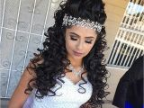 Cute Quinceanera Hairstyles Curly Hairstyles Unique Curly Quinceanera Hairstyl