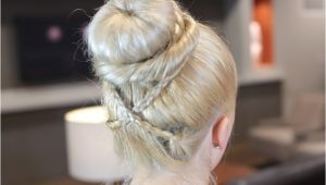 Cute sock Bun Hairstyles sock Bun Curls