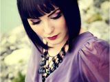 Cute Weave Hairstyles with Bangs 25 Short Inverted Bob Hairstyles