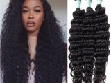 Deep Wave Hairstyles for Black Women Malaysian Hair Human Hair Deep Wave soft Healthy High Quality