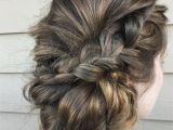 Different Braid Hairstyles for Short Hair Braided Updo Hairstyles Pinterest