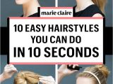 Different Easy Hairstyles to Do at Home Easy Hairstyles for Short Hair to Do at Home