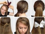 Different Easy Hairstyles to Do at Home Hairstyles for School Step by Step Google Search