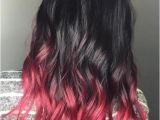 Dip Dye Hairstyles Pinterest 40 Vivid Ideas for Black Ombre Hair