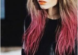 Dip Dye Hairstyles with Fringe 121 Best Dip Dyed Images