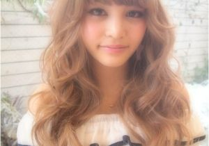 Dip Dye Hairstyles with Fringe soft Curls ♡ Hair Nails & Hair Pinterest