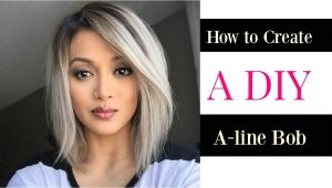 Diy A Line Bob Haircut How to Create A Diy A Line Bob Cut