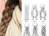 Diy Gymnastics Hairstyles How to Super Cute 4 Strand Braid Step by Step Diagram Included