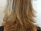 Diy Haircut Choppy Layers Layered Haircut Back View Haircut Pinterest