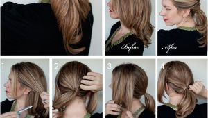 Diy Haircut Using Ponytail 10 Ponytail Tutorials for Hot Summer Hair