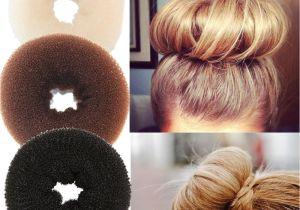Diy Hairstyles Buns Plate Hair Donut Hair Bun Maker Roller Children Diy Magic Elastic