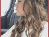 Diy Hairstyles with Curls Cute Easy Updos for Medium Curly Hair Hair Style Pics