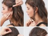 Diy Hairstyles with Steps Easy Hairstyles Step by Step for Girls Elegant Beautiful Easy
