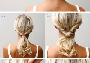 Diy Updo Hairstyles for Short Hair 10 Quick and Pretty Hairstyles for Busy Moms Beauty Ideas