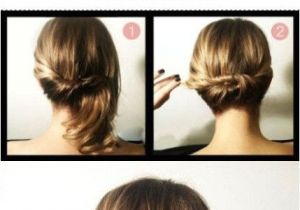 Diy Updo Hairstyles for Short Hair Short Stuff Hair Envy
