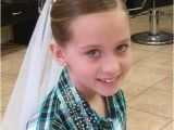 Down Hairstyles for Communion Updo for First Munion First Munion Pinterest