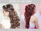 Down Hairstyles for formal events 42 Half Up Half Down Wedding Hairstyles Ideas Do S