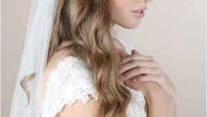 Down Hairstyles for Wedding with Veil 4 Half Up Half Down Bridal Hairstyles with Veil
