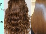 Down Hairstyles without Heat Hair Straightening at Home without Hair Straightener Heat Hindi
