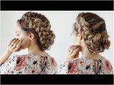 Down Hairstyles Youtube How to Loose Braided Updo Kayleymelissa