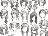Drawing Hairstyles From the Back Image Result for Easy to Draw Anime Girl Hair Manga