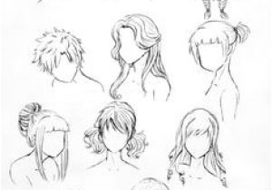 Drawing Manga Hairstyles 167 Best Hair Images
