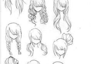 Drawing Manga Hairstyles Draw Realistic Hair Drawing