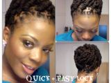 Dreadlocks Easy Hairstyles Simple and Quick Lock Hairstyle Using Coils