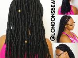 Dreadlocks Hairstyles In London You Would Never Guess What Makes This Faux Locs Protective Style so