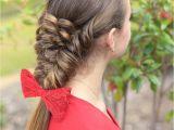 Dutch Braid Cute Girl Hairstyles Banded Puff Braid Fashion Hairstyles Pinterest