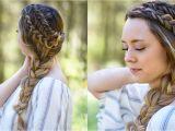 Dutch Braid Cute Girl Hairstyles Double Dutch Side Braid Diy Back to School Hairstyle