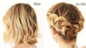Dutch Braid Hairstyles for Short Hair Dutch Braid Updo for Short Hair Braid Styles Vingle Very