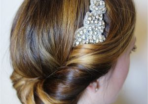 Easy 1920s Hairstyles Easy 1920 S Great Gatsby Hair Tutorial