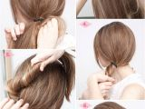 Easy 5 Min Hairstyles 27 Easy Five Minutes Hairstyles Tutorials Pretty Designs