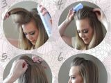 Easy 5 Min Hairstyles Easy Five Minute Hairstyles