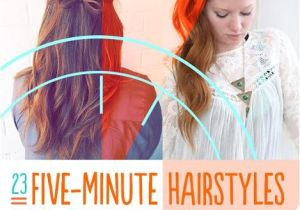 Easy 5 Minute Hairstyles for Long Hair 5 Minute Hairstyles for School