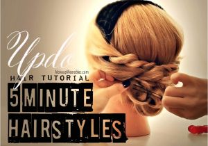 Easy 5 Minute Hairstyles for Long Hair 5 Minute Hairstyles