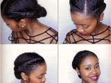 Easy African American Hairstyles for Medium Length Hair Easy Natural Hairstyles Simple Black Hairstyles for